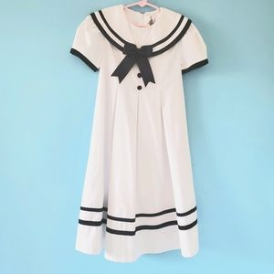 Rare Editions Sailor Dress, Size 6 X